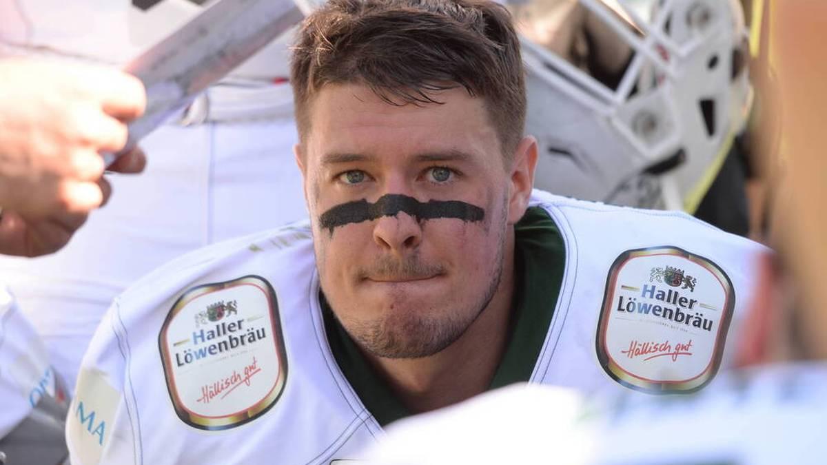 Die Schwäbisch Hall Unicorns bangen vor dem German Bowl um Quarterback Alexander Haupert