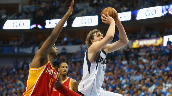 Houston Rockets v Dallas Mavericks - Game Three