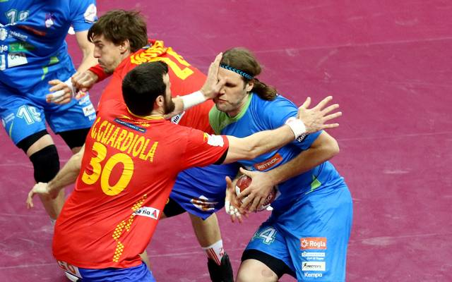 Spain v Slovenia - 24th Men's Handball World Championship