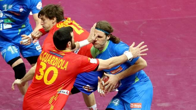 Spain v Slovenia - 24th Men's Handball World Championship