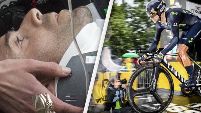 Für Alejandro Valverde ist die Tour de France vorzeitig beendet