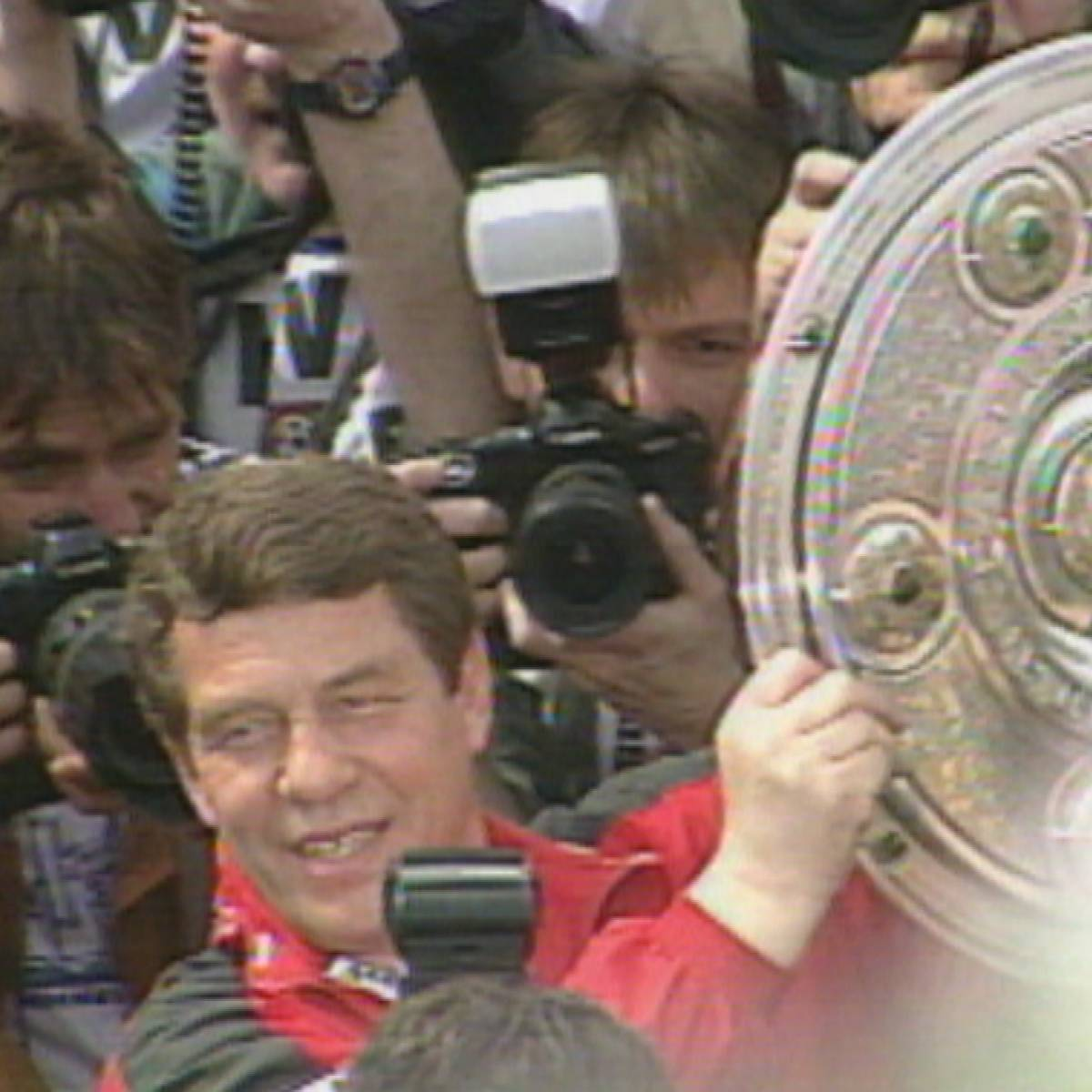 Meister als Aufsteiger: Rehhagels große Rache an den Bayern