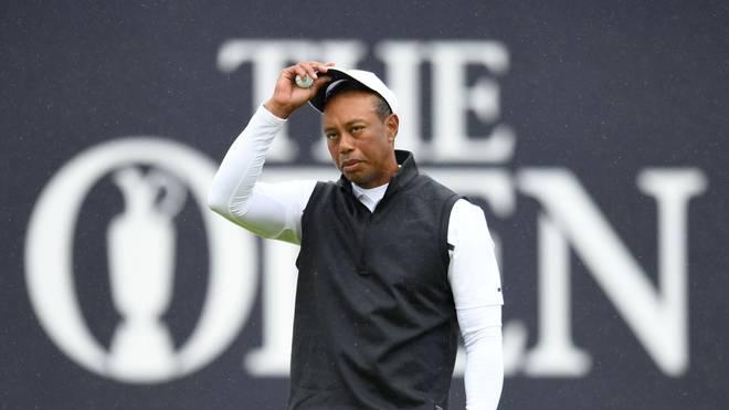Tiger Woods ist bei der British Open am Cut gescheitert