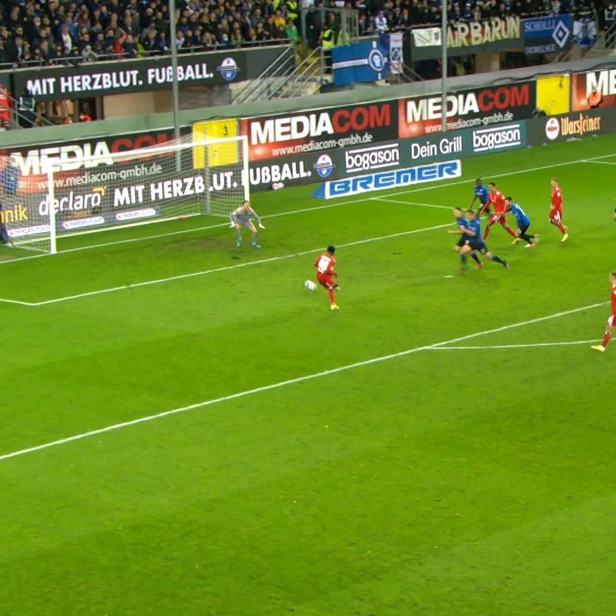90.+4! HSV-Wahnsinn im Herzschlagfinale