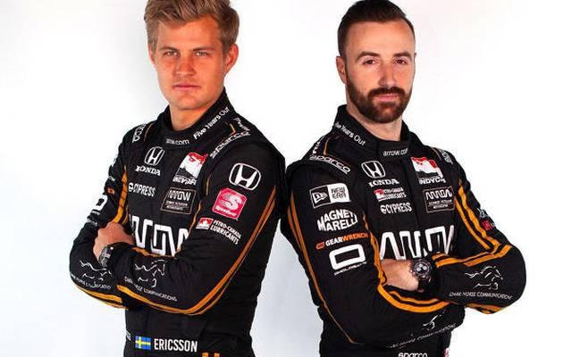 Marcus Ericsson ist in der IndyCar-Saison 2019 Teamkollege von James Hinchcliffe