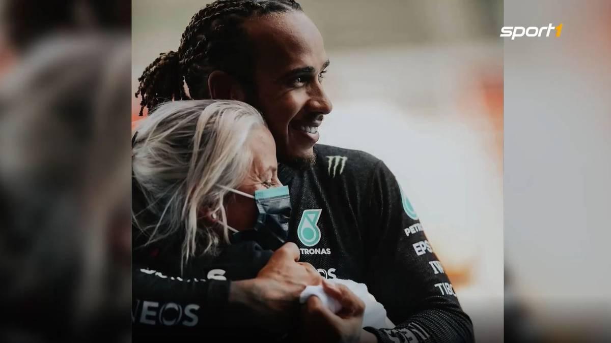 Weltmeister Lewis Hamilton gilt als absoluter Superstar in der Formel 1. Eine Person ist während der Saison stets an seiner Seite.