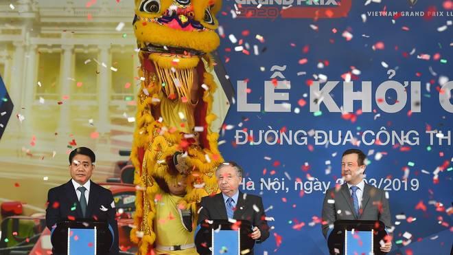 Formel 1: Baubeginn für die Rennstrecke in Vietnam , In Hanoi feiert die FIA den Baubeginn der neuen Formel-1-Strecke
