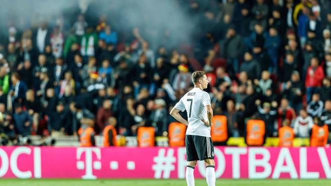 Die DFB-Spieler feierten nach dem Sieg gegen Tschechien nicht mit den pöbelnden Fans