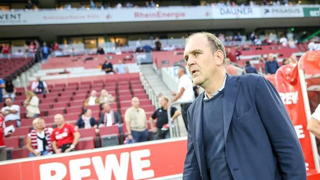 Manager Jörg Schmadtke vom 1. FC Köln hatte einen Protest angekündigt