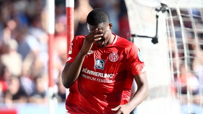 Jean-Philippe Mateta erzielte in der Vorsaison in 34 Ligaspielen 14 Tore für Mainz 05