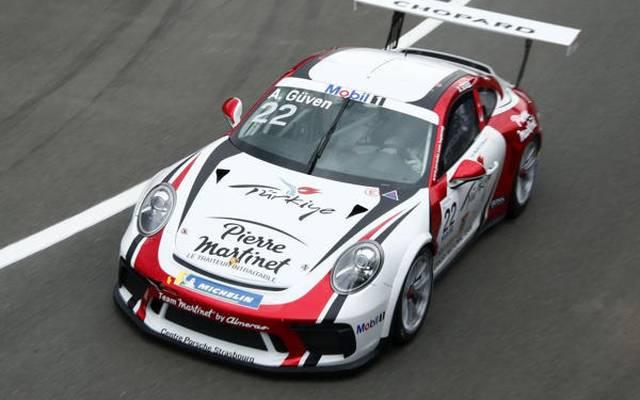 Ayhancan Güven startet erstmals im Porsche-Supercup von P1