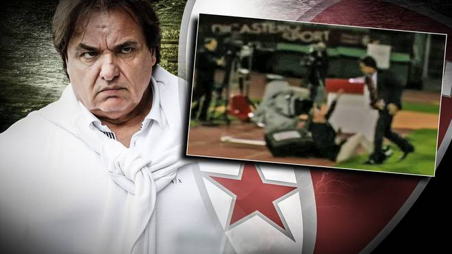 Sion-Boss Christian Constantin attackierte Rolf Fringer vor laufender TV-Kamera