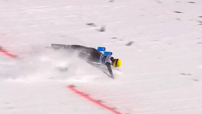 Ramona Straub stürzte im zweiten Durchgang in Oslo
