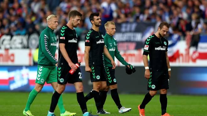 Holstein Kiel v SpVgg Greuther Fuerth - Second Bundesliga