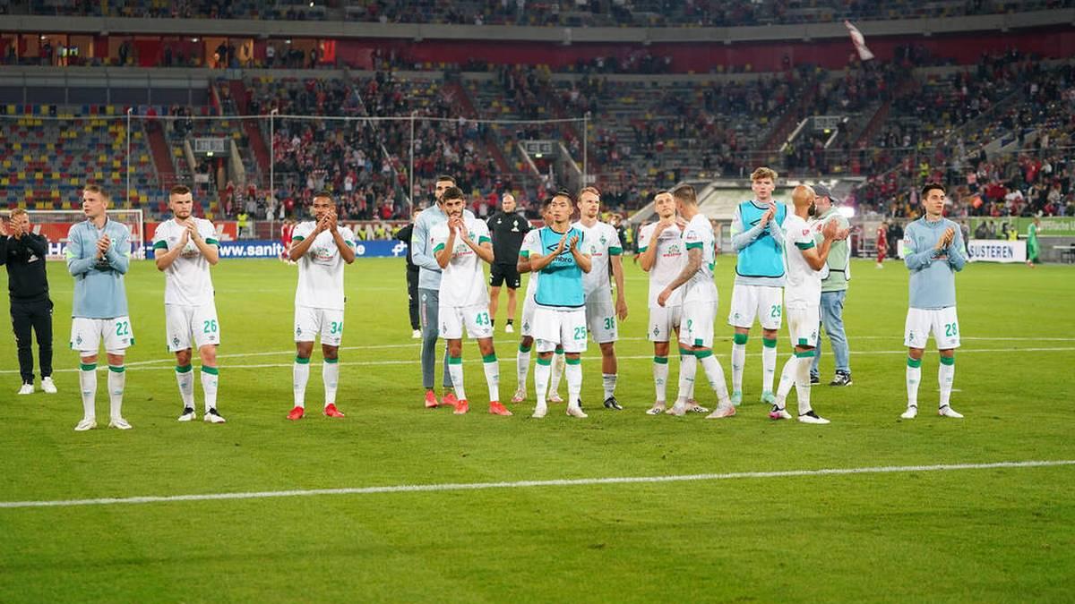 Werder Bremen siegte gegen Fortuna Düsseldorf in letzter Minute