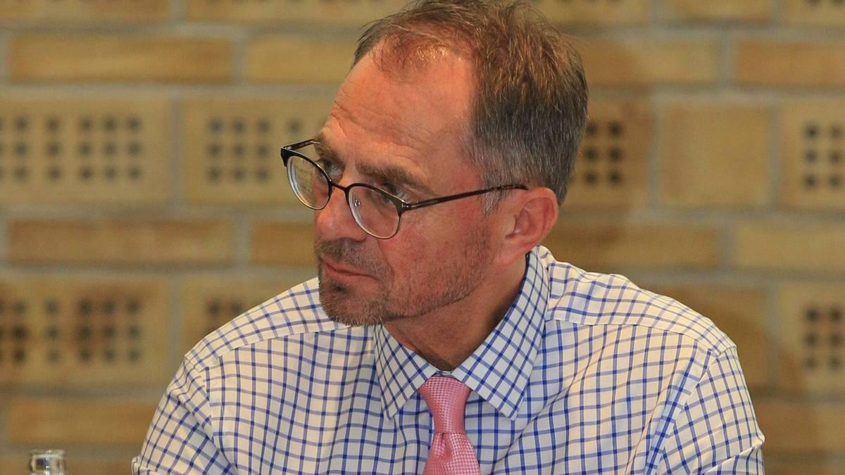 Uwe Döring ist Präsident des Fußballverbandes von Schleswig-Holstein