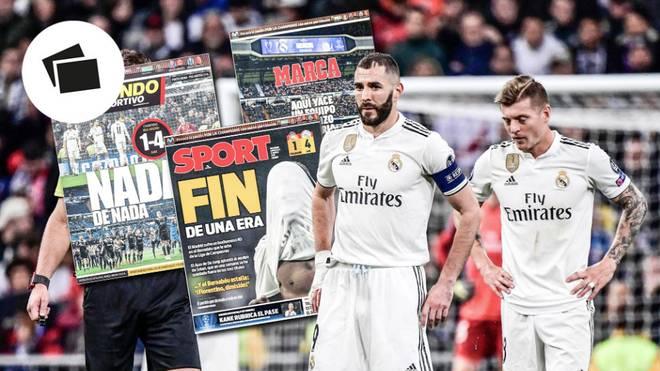Für Toni Kroos (r.) und seine Teamkollegen von Real Madrid ist die Saison gelaufen