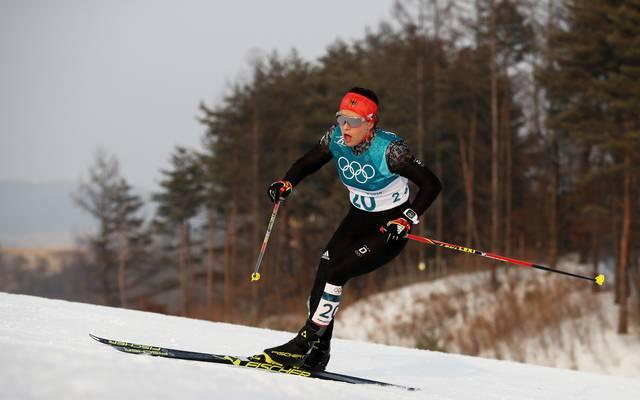 Katharina Hennig sichert sich beim Massenstart in Oberstdorf die WM-Norm