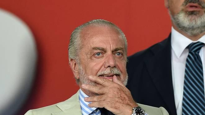 Neapels Präsident Aurelio De Laurentiis wird vom italienischen Fußballverband vernommen