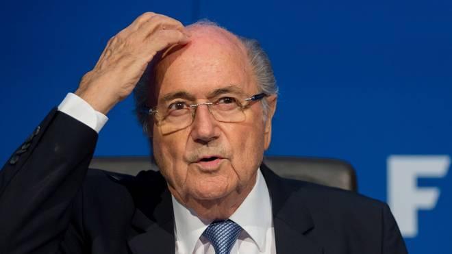 Sepp Blatter steht stark in der Kritik