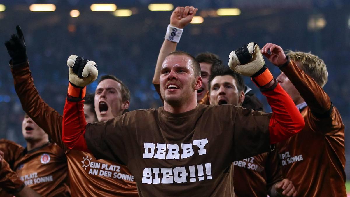 Benedikt Pliquett wurde beim Derbysieg des FC St. Pauli im Jahr 2011 zum Helden