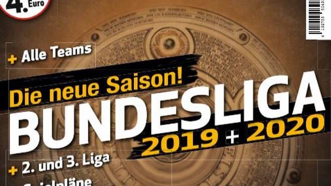 Das SPORT1 Bundesliga Sonderheft ist ab dem dem 9. Juli im Handel erhältlich