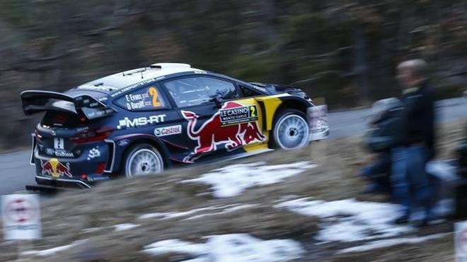 Schnee könnte am Freitag bei der Rallye Monte Carlo eine Rolle spielen