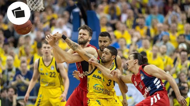 FC Bayern Basketball und ALBA Berlin treffen im Finale der BBL aufeinander