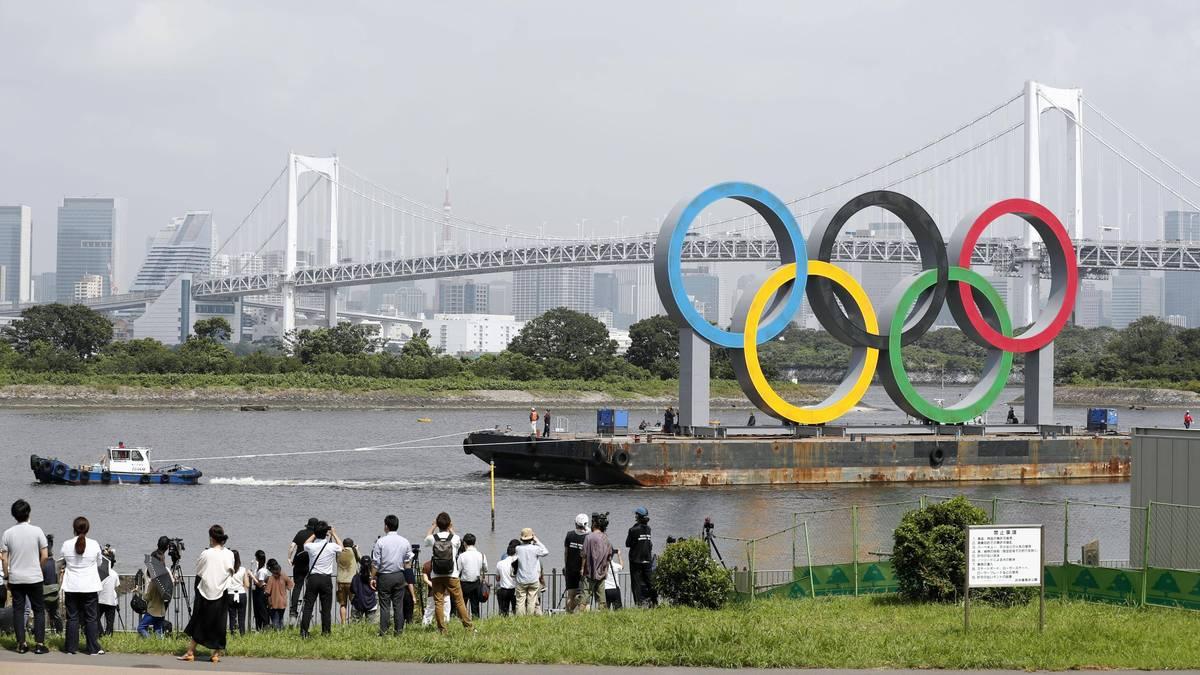 Wegen Corona wurde Tokio 2020 um ein Jahr verschoben