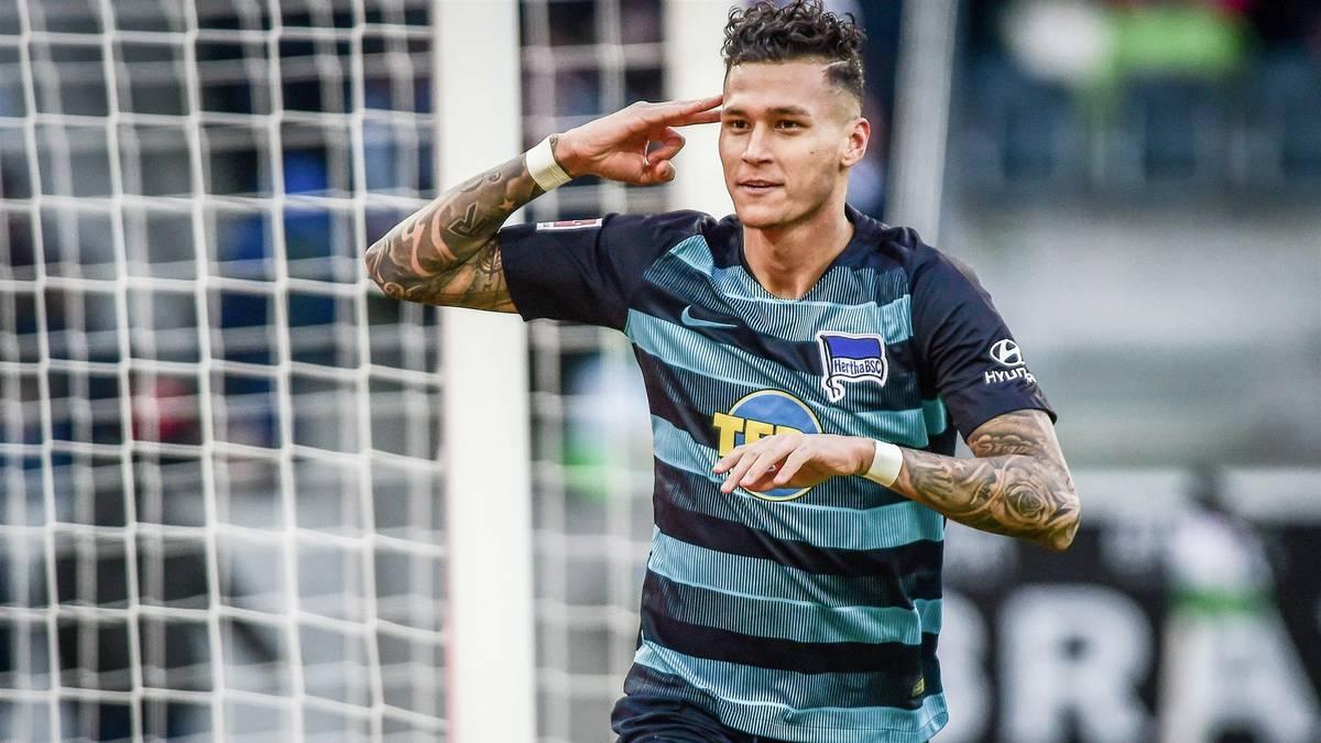 Davie Selke hat bei Hertha BSC einen Vertrag bis 2022