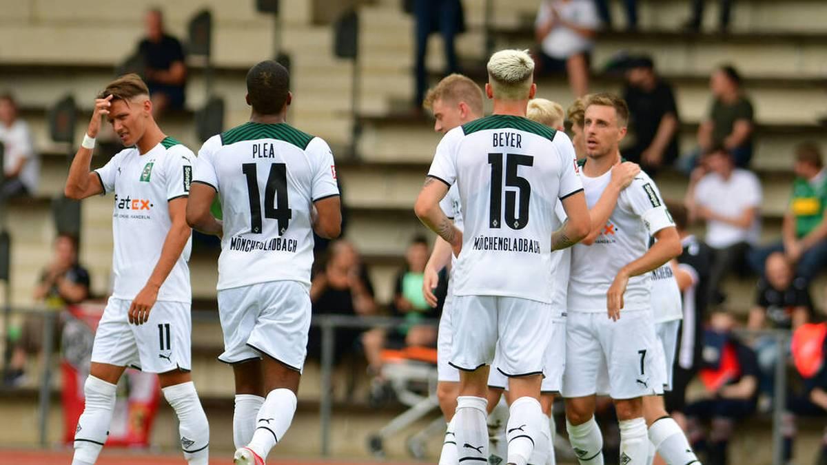 Borussia Mönchengladbach patzte gegen einen Drittligisten