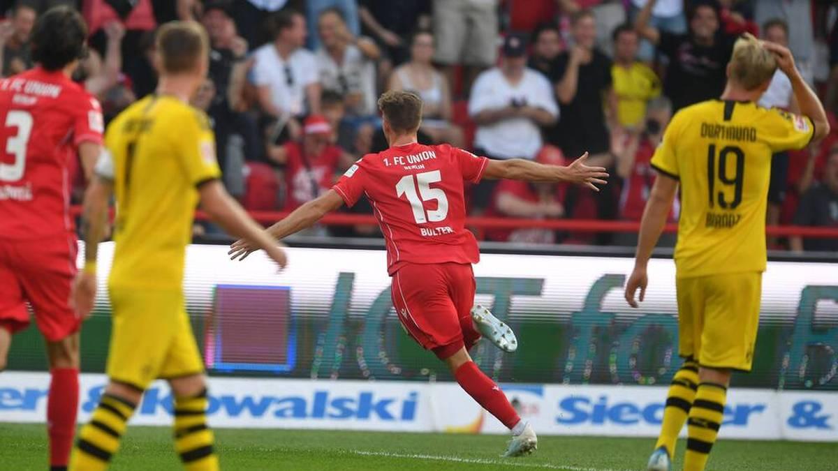Ein absolutes Highlight in der Karriere von Marius Bülter: Doppelpack gegen den BVB in seiner Premierensaison