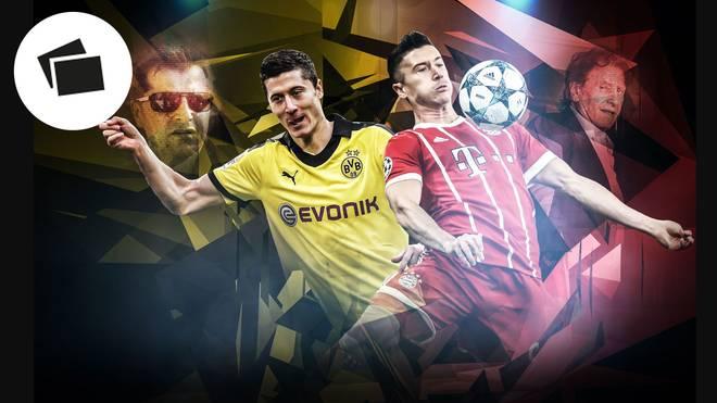 Robert Lewandowski und seine Berater haben die deutschen Sportmedien immer wieder auf Trab gehalten