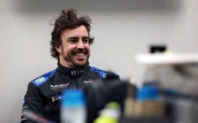 Fernando Alonso in Daytona
