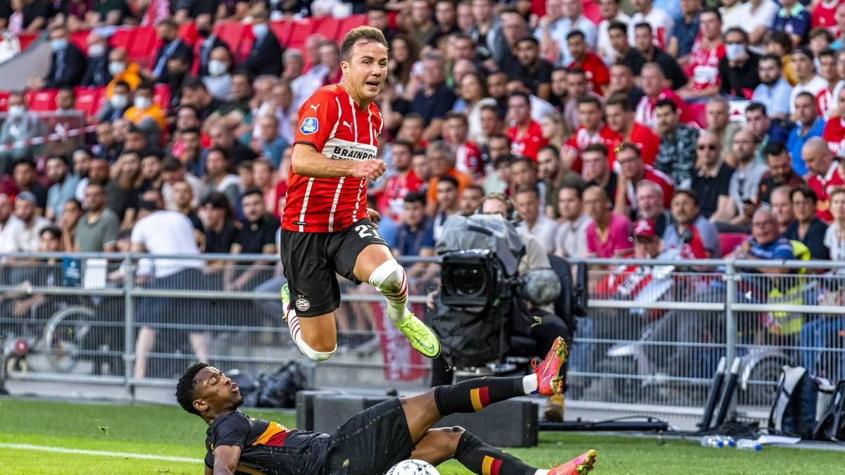 Heute LIVE im Einsatz auf SPORT1: Darum blüht Götze bei PSV auf