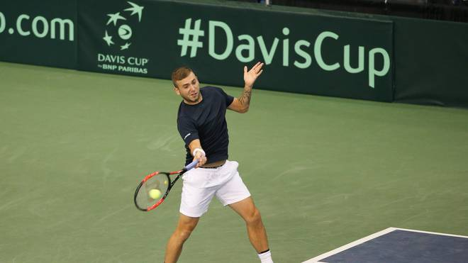 Canada v GB: Davis Cup by BNP Paribas World Group First Round - Day 3