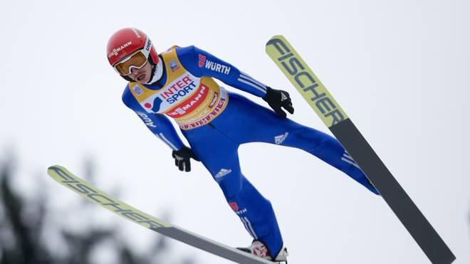 Richard Freitag liegt bei der Skiflug-WM nach zwei Durchgängen auf Rang zwei