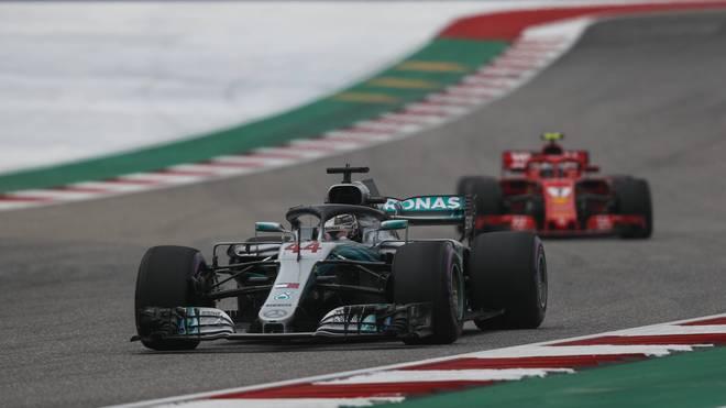 Kann Ferrari Mercedes im Rennen von Austin noch einmal unter Druck setzen?