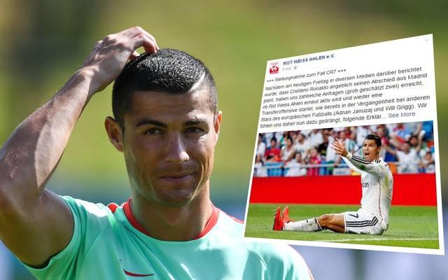 Cristiano Ronaldo sorgt für humorige Transfer-Gedankenspiele bei Twitter und Co.