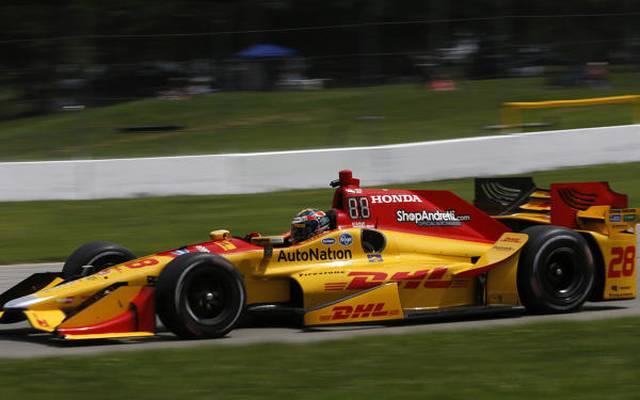 Andretti Autosport fährt seit 2014 wieder mit Honda und so geht es auch weiter