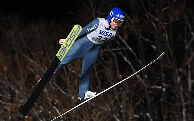 Carina Vogt gewann 2014 in Sotschi die Goldmedaille