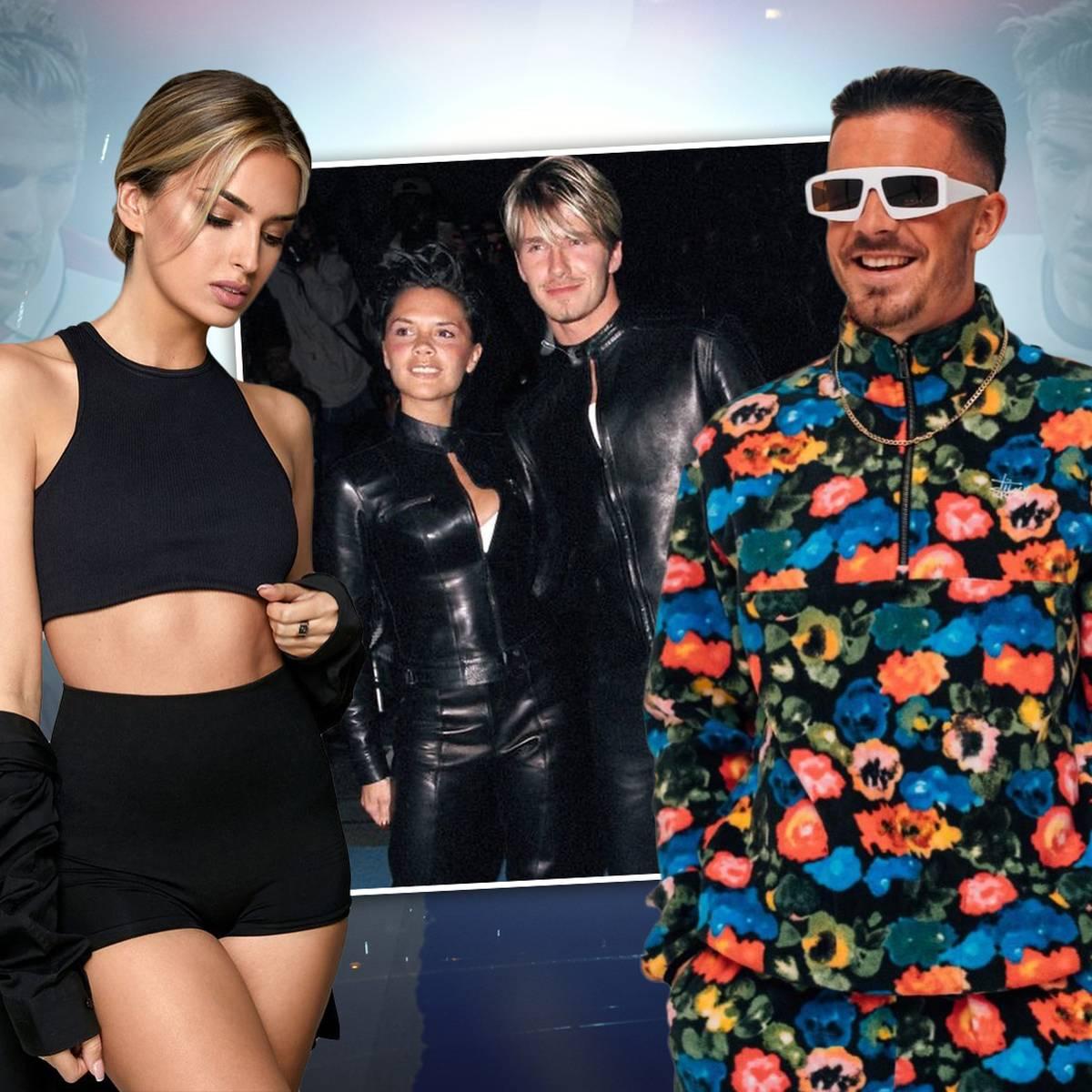 Grealish macht den Beckhams Konkurrenz: Das neue Super-Paar in England