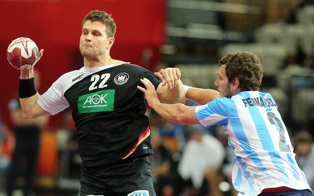 Michael Kraus bei der Handball-WM in Katar