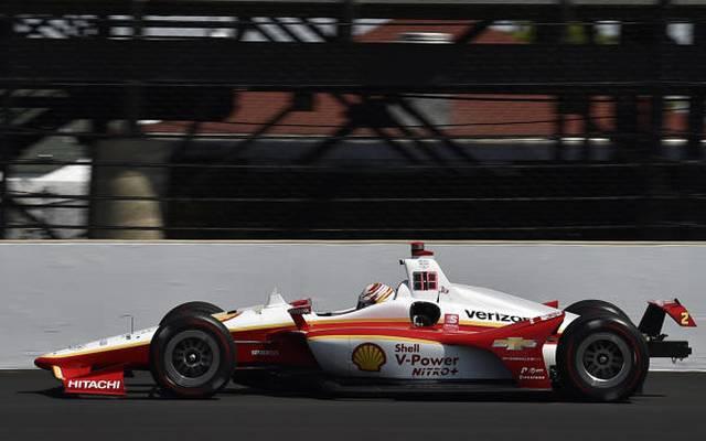 Penske-Pilot Josef Newgarden: am zweiten Indy-500-Trainingstag der Schnellste
