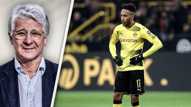 SPORT1-Experte Marcel Reif (l.) rät Borussia Dortmund zur baldigen Trennung von Pierre-Emerick Aubameyang