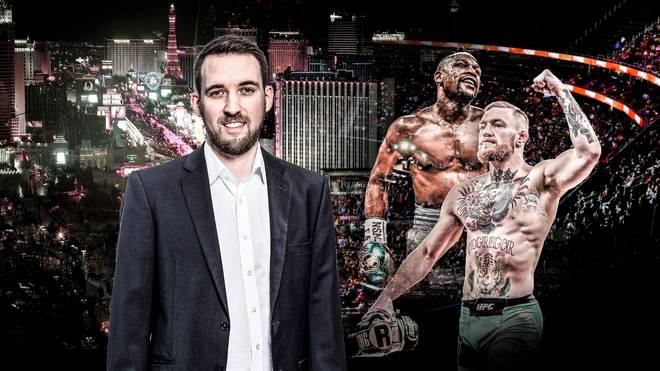 SPORT1-Reporter Sebastian Mittag ist vor Ort in Las Vegas
