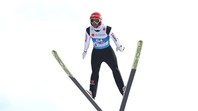 Markus Eisenbichler gehört bei der Nordischen Ski-WM zum engsten Favoritenkreis