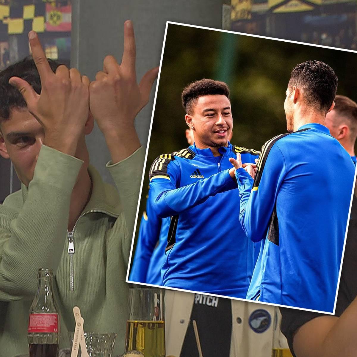 Jubel Nachhilfe für Ronaldo: Das steckt hinter dem Lingard-Jubel