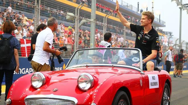 Nico Hülkenberg fuhr 2015 mit Force India achtmal in die Punkteränge