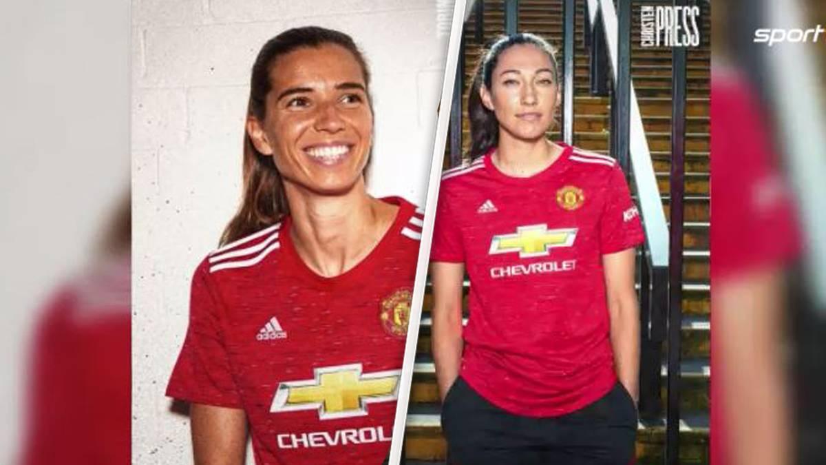 Ein Novum in den Fanshops von Manchester United: Nicht etwa die Trikots von Edinson Cavani  oder Paul Pogba sind die Verkaufsschlager– nein, auf den beliebtesten Trikots dieser Tage stehen hinten die Namen Heath und Press.